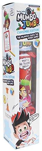 Mumbo Jumbo Weihnachten Edition Riese Cracker Kinder Guess das Wort Mund Schutz Familie Spaß Spiel