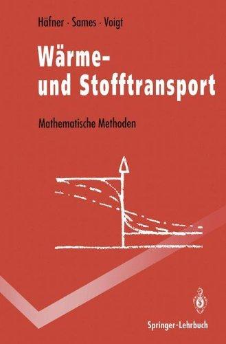 Wärme- und Stofftransport (Springer-Lehrbuch) by Frieder Häfner (1992-03-09)