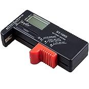 SODIAL(WZ.) Batterietester Batterie Tester Volt Pruefer Batterie Pruefgeraet fuer 9V 1,5 V und AA AAA Batterien