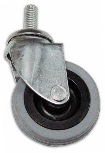 Gummirad mit Stift Ø 80 mm Swivel DF7 Filet 10x25 mm Kapazität 40 kg