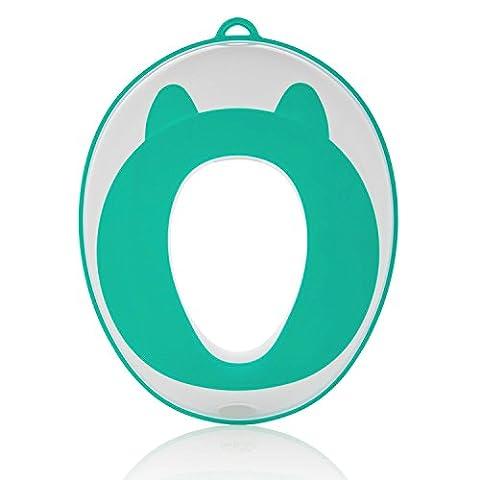 Homeself Pot Siège pour garçons et filles | tout-petits Pot Bague pour toilettes ronds et ovales | Surface antidérapante (Rose)