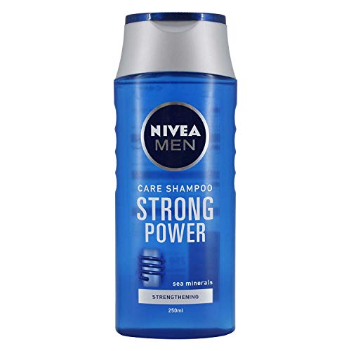 Nivea Men Care Shampoo Strong Power, Sea Minerals - 250ml