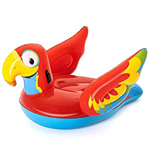 Bestway Inflatable Peppy Parrot Ride-On
