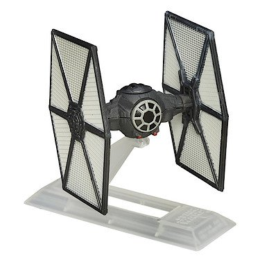 Star Wars : The Force Awakens – B4582 – The Black Series Titanium – First Order TIE Fighter – Véhicule Miniature 6 cm