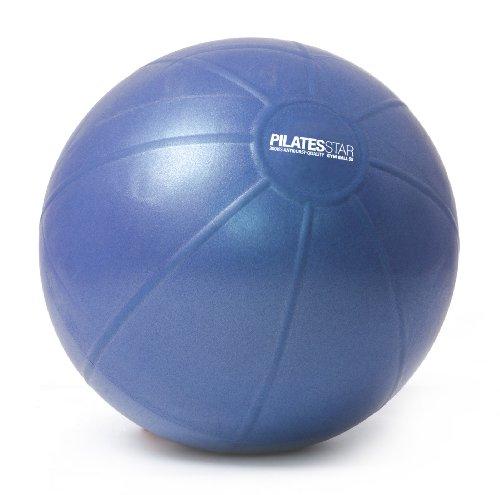 Yogistar Gymnastikball/Pilatesball - 55 cm - Blau