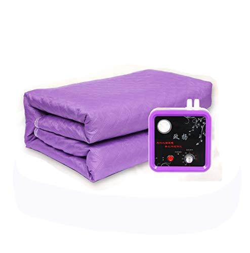 Electric blanket Sanitär Heizdecke doppelte Sicherheit Nicht strahlende Wasserzirkulation Haushalt einstellbare Temperatur Heizdecke, 200x180cm