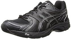 ASICS Gel-Tech Walker Neo 4 Walking Shoe Black/Black/Silver 7.5 D(M) US