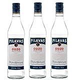 3x 0,7l Ouzo Pilavas Nektar 38% Vol.