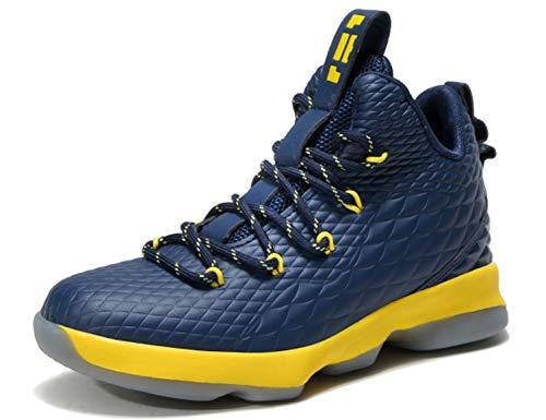 327e426bcd1 Niños zapatillas de baloncesto high-top al aire libre calzado deportivo  moda lace up sneaker