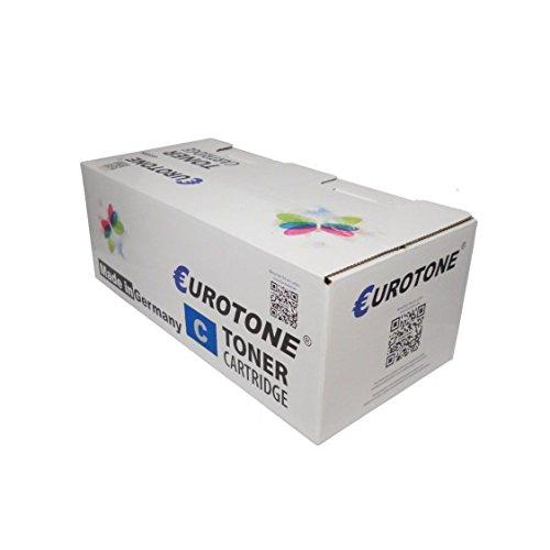 Preisvergleich Produktbild 1x Eurotone Toner für Sharp MX-C 310 311 312 380 381 400 401 402 SC P ersetzt MXC-38 GTC MXC38GTC Cyan