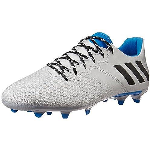 adidas Messi Terrain Souple/Synthétique, Football Homme, Vert (Semi Solar Slime/Solar Red/Core Black), 42 2/3 EU
