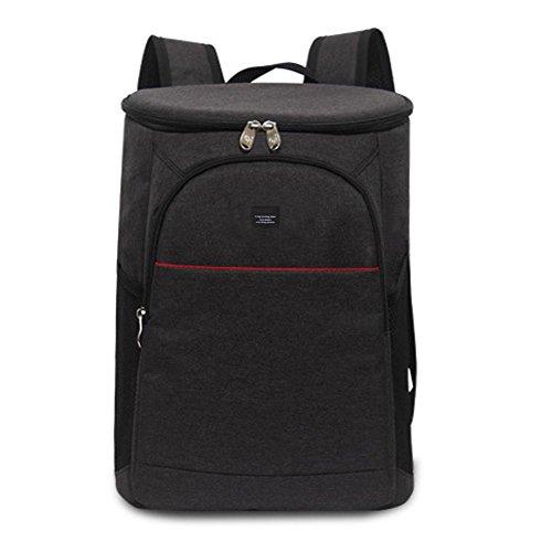 Kühltasche Eistasche Picknicktasche Rucksack Lunch Tasche Große Isolierte Lunchtasche Picknick Cool Bag für Männer und Frauen Weiche Kühltasche für Strand/Picknick / Camping/BBQ,18L