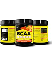 Healthvit Fitness BCAA 6000mg 2:1:1 with L-Glutamine & L-Citrulline Malate, 200g(Orange) (25 Servings) Tangy Orange