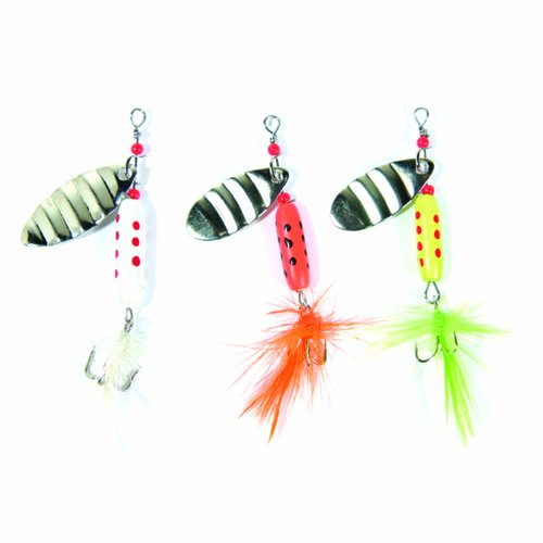 Eagle Claw Lake and Stream Hair Spinner Assortment (Spinners Hair)