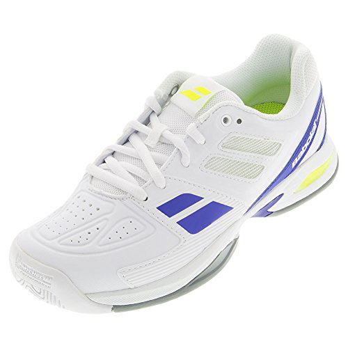 BABOLAT Propulse Team All Court Chaussures Enfant, Blanc, 33