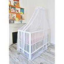 TRANQUILISAFE - Mosquitera para cuna de bebé, color blanco