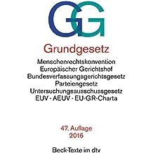 Grundgesetz GG (dtv Beck Texte)