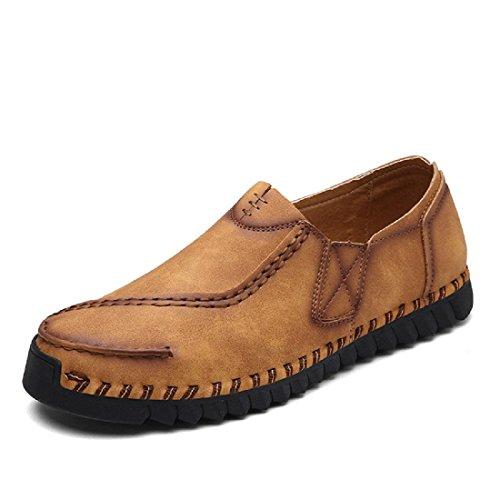 Hommes Chaussures décontractées Personnalité Respirant Appartement Accueil portable Chaussures de loisirs Yellow