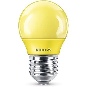 Philips Bombilla LED E27, luz blanca, 3.1 W, azul: Amazon.es ...