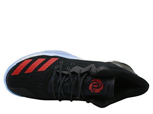 adidas Herren D Rose 7 Low Turnschuhe Schwarz (Negbas / Negbas / Ftwbla)