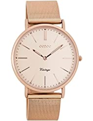 Oozoo Vintage Damen-Armbanduhr Rosé C7399