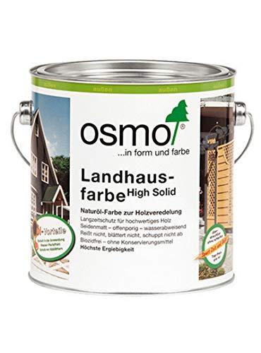 Osmo Landhausfarbe Fichten-Gelb (2203) 2,5 Liter