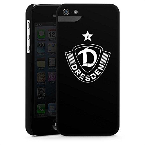 Apple iPhone SE Silikon Hülle Case Schutzhülle Dynamo Dresden Fußball Bundesliga Premium Case StandUp