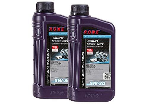 2 (2x1) Liter ROWE HIGHTEC MULTI SYNT DPF SAE 5W-30