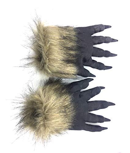 (Unbekannt Maske Halloween Maskerade Party Maske Tier Styling Löwe Tiger Wolf Handschuhe Wolf Kopf Maske Kopfbedeckungen,Lion)