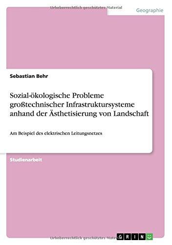 Sozial-ökologische Probleme großtechnischer Infrastruktursysteme anhand der Ästhetisierung von Landschaft: Am Beispiel des elektrischen Leitungsnetzes