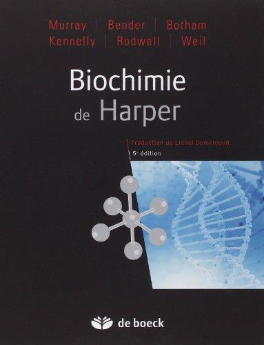 Biochimie de Harper de Robert-K Murray (14 mai 2013) Broché