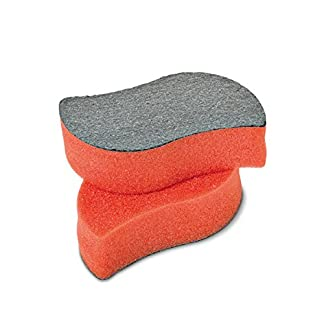Flash Chimenea Discos estropajo esponja para chimenea Horno glaß limpiador limpiacristales sin agua sin rayar