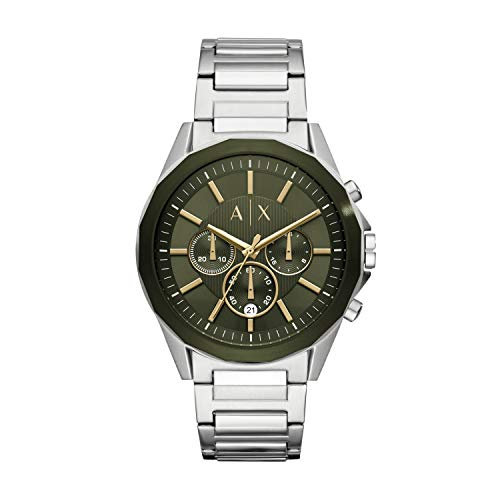 Armani Exchange Reloj Cronógrafo para Hombre de Cuarzo con Correa en Acero Inoxidable AX2616