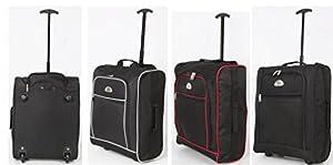 Elegant® EasyJet Trolley Cabin Approved Wheeled Suitcase Hand Luggage Flight Bag