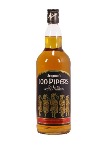 Seagrams 100 Pipers Blended Scotch Whisky