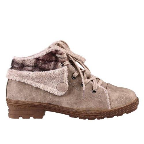 Les chaussures pour dames (TR-54) Beige