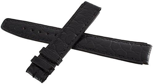 IWC Uhrenarmband 14mm Leder schwarz