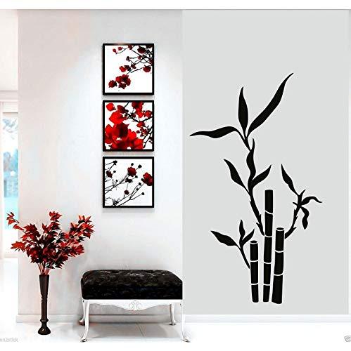 Hwhz 52 X 90 Cm Baum Bambus Wand Kunst Aufkleber Badezimmer Schlafzimmer Aufkleber Esszimmer Dekor Kunst Malerei Wand Aufkleber Vinyl Dekor Decals