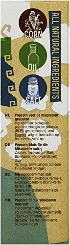 Yum Kah BIO Popcorn für die Mikrowelle salzig, glutenfrei - 4