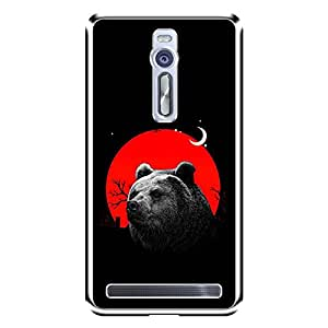 "MOBO MONKEY Designer Printed 2D Transparent Hard Back Case Cover for ""Asus Zenfone 2 ZE551ML"" - Premium Quality Ultra Slim & Tough Protective Mobile Phone Case & Cover"