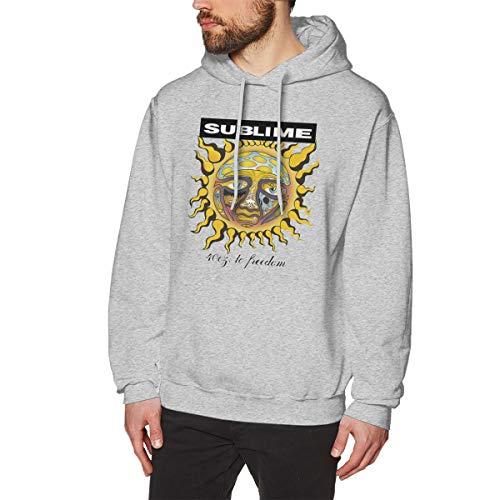 James Home Herren Subline 40oz Logo Pullover Hoodie Langarm Sweatshirt Hoodies für Herren Jungen Kleidung Outdoor Mantel Tops Grau 3XL Oval Logo Sweatshirt