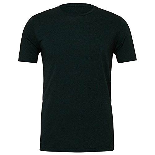 Bella Canvas Herren Modern T-Shirt Emerald Triblend