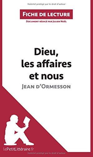 Dieu Les Affaires Et Nous [Pdf/ePub] eBook