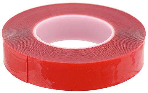 FiveSeasonStuff® Polyvalent Haute Résistance Acrylique Ruban adhésif double face pour réparation de téléphones mobiles, des véhicules automobiles, maison et jardin, industriel, bureau, atelier, garage. applications de surface pour le bois, le verre, le métal, les plastiques, les composites, foamex, les surfaces peintes (tailles disponibles de 3mm à 50mm et épaisseur 0.2mm ou 1mm) chaque bande est de 10mètres de long (35mm 1mm)