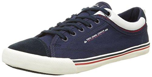 Passepoil Pepe Jeansbritt - Chaussures De Sport Basses Pour Homme Bleu (blau (585marine))