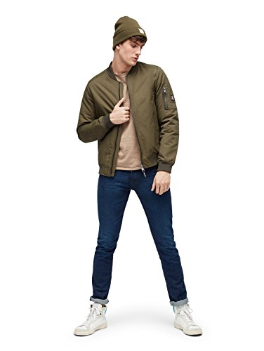 704295880e96 ... TOM TAILOR Denim Herren Skinny Jeans Super Slim Piers Blue Wash used  dark stone blue denim ...