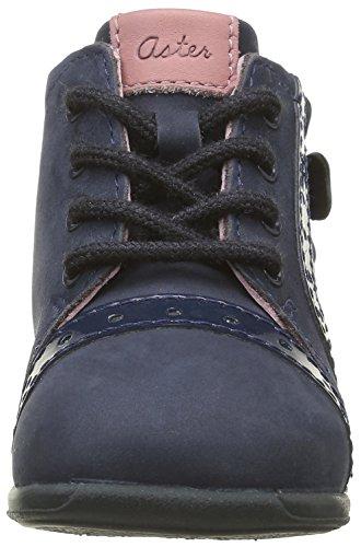 Aster Ofanna, Chaussures Premiers Pas Bébé Fille Bleu (Marine)