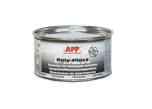 Kunststoff-Konturspachtel Kunststoffspachtel Flex Poly Plast 1,8kg Werkstattqualität! (Flex Elastische)