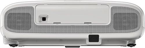 Bild 52: Epson EH-TW6100 3D Heimkino 3LCD-Projektor (Full HD 1080p, 2.300 Lumen Weiß & Farbhelligkeit, 40.000:1 Kontrast, 2x HDMI (1x MHL), inkl. 1x 3D Brille) schwarz