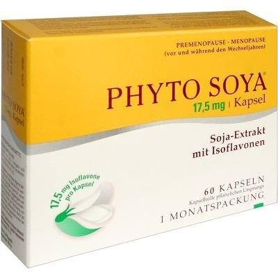 supplément alimentaire Per I Disturbi Legati Alla ménopause Phyto Soya 60 Capsule 17,5 Mg